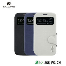 Fashion Magnetic Clasp Top Class PU Leather Case For Samsung i9500,Flip Leather Case for Samsung S4