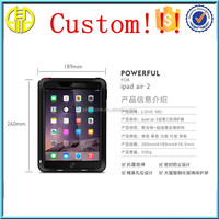 custom soft silicone tablet case for ipaad 1 / 2 /air /Mini