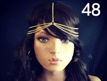 18K Gold Plated 925 Sterling Silver Wholesale Girls Indian Hair Accessories