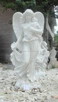 White Large Figure Statue Male Angel Statue