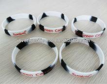 SB-001 Sedex Factory Audit 100% Food Grade LFGB Standard NCAA Silicone Bracelets