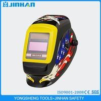 Jinhan Brand Cutting Edge Auto Darkening Welding Helmets Arc 4 with Decals
