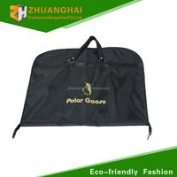 non-woven suit cover side zipper garment bag