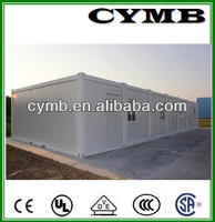 CYMB steel structure prefab house