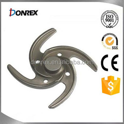 Custom carbon steel pump impeller in China