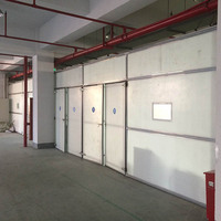 plastic warehouse wall partition made of pp honeycomb sandwich panel holypan