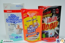 liquid packaging bags with hot design