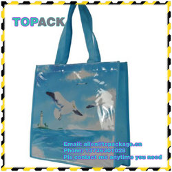 pictures full color printing non woven shopping bag,used pp shopping non woven bag