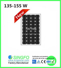 2015 Hotsale 7 pieces 150W for 1000 watt solar panel use at Home panels 1000w price cheap solar fit India/Asian Market SFM15036