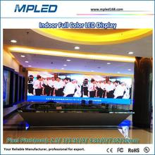 Low price of p4 indoor led hd video display led screen support different signal