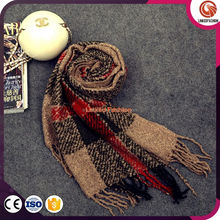 Winter new winter fashion scarves mixed colors warm mohair scarves scarves came with money