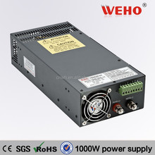 constant voltage ! single output ac/dc transformer SCN-1000-12 80a miniature circuit breaker in parallel