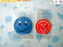 smile style paper car air freshener