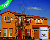 Only for project exterior wall villa and house never crack and good protection sand textured building coatings