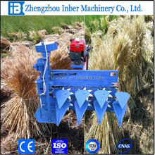 walk behind wheat corn sesame straw cutting machine, combined harvester reaper for reed hay
