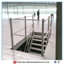 2015 New Hot Selling china Warehouse storage Top of Steel Mezzanine Stairs