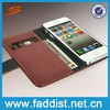 Hot selling with wallet & card slot wallet case for iphone 5