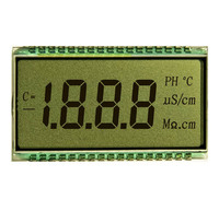 4 digit segment customed TN LCD display screen