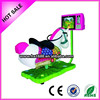 Kids Coin Operated Game Machine 3D swing Horse Racing Game Machine