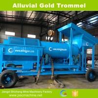 China manufacture customized design gold rotary trommel machine