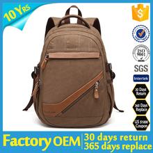 2015 backpack bag canvas, china japan german outdoor hiking backpack custom vintage canvas backpack, wholesale canvas backpack