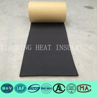 black foam adhesive rubber seal in building field