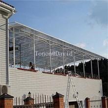 foshan tonon polycarboante fabricante del panel de techo de plástico transparente hoja hecha en china