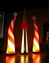 lighting inflatable wedding stage decoration