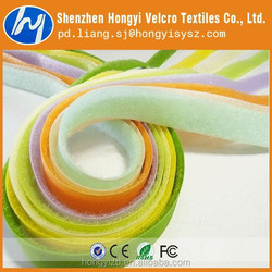 Shenzhen best quality soft loop velcro fabric tape