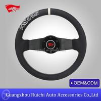 American Racing Steering Wheels 13inch 2 Spoke Brushed Spoke Steering Wheel