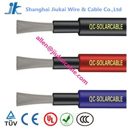Black Sheath TUV Approved 2x10mm Solar Panel Cable