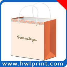 China Factory manufacturer custom birthday paper bag handles paper bags