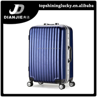 China supply AbS PC trolley bag hot selling airport luggage trolley