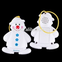 Brand New Wireless Snowman Baby Cry noise Detector Alarm