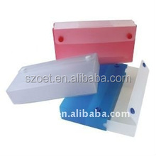 Plastic custom printed sliding pencil case, pencil gift boxes