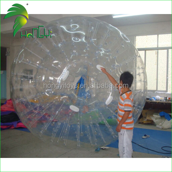 Inflatable zorb balloon