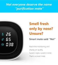 Smart design electronic air purifier with timing system