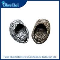Most popular leopard cave shaped pet bed for cat