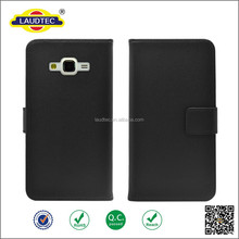 Stylish wallet stand PU Leather flip case cell phone case with card slots for Samsung J7