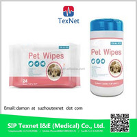 Pet Cleaning Wet Wipes with good quality and OEM service