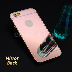 Cheap Mobile Phone Aluminum Mirror Case for Apple iPhone 6
