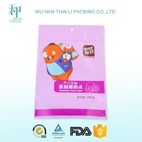 top selling products CMYK calendar printing frozen food packaging pouch bag