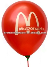 "10"" printable latex balloon for advertising"