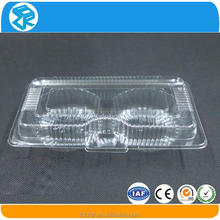 Disposable mini clear plastic boxes cupcake