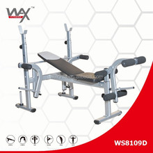 luxury multifunctional bed weight lifting bench stand barbell bed rack commercial