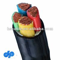 Low Voltage 600/1000V CU/XLPE/PVC Power Cable 4x70 mm2