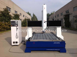 stone sawing machine / cnc stone 4 axis router / 4 axis stone machinery