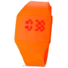 Alibaba suppliers silicone led corporate watches
