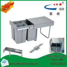 kitchen cabinet new products 2015 plastic with lid recycle bin