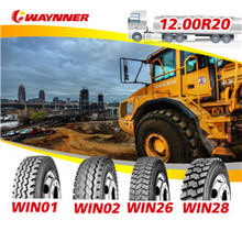 China high quality all steel radial truck tyre, 12.00R20 export tyres